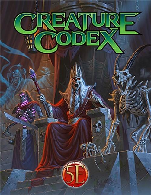 Creature Codex Pocket Edition