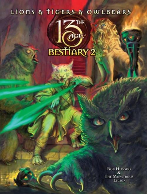 13th Age Bestiary 2 HC