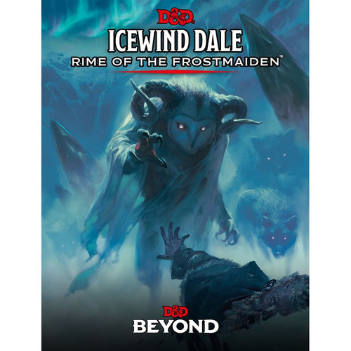 Dungeons and Dragons: Icewind Dale: Rime of the Frostmaiden Standard Cover
