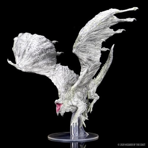 Dungeons and Dragons Icons of the Realm: Adult White Dragon
