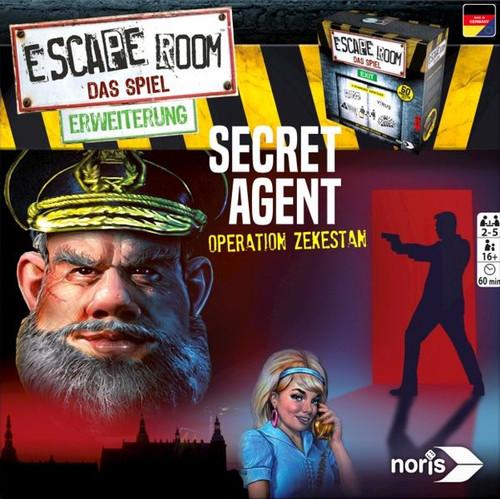 Escape Room The Game: Secret Agent expansion