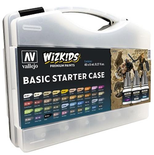 Vallejo: Wizkids Paint Set Starter Case