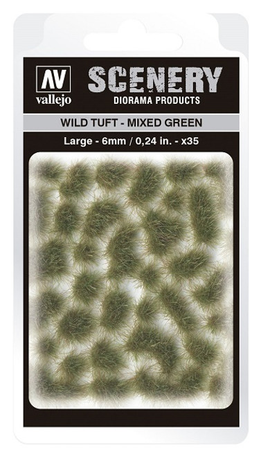 Vallejo: Scenery Large Wild Tuft Mixed Green