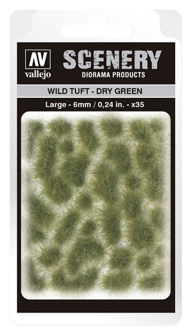 Vallejo: Scenery Large Wild Tuft Dry Green