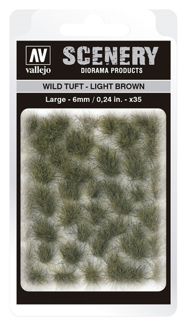 Vallejo: Scenery Large Wild Tuft Light Brown