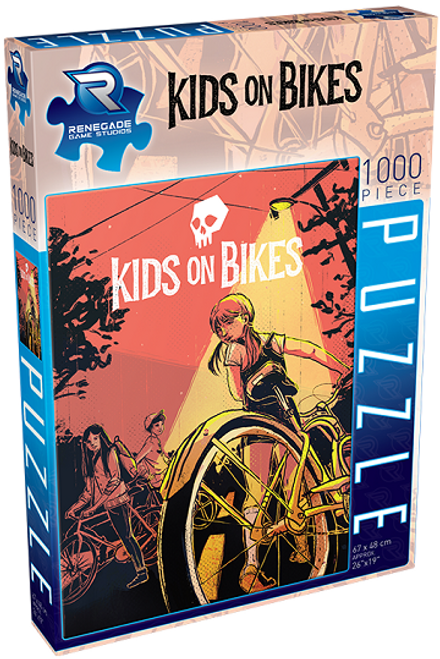 Puzzle 1000 Kids on Bikes