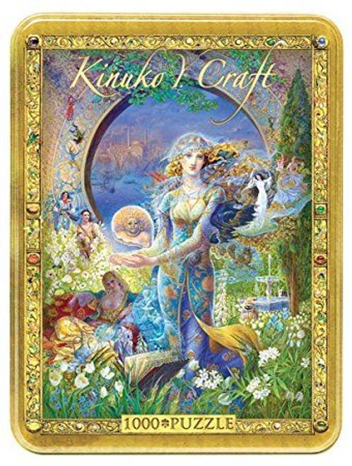 Puzzle: 1000 Kinuko Craft Tin Cybele's Secret