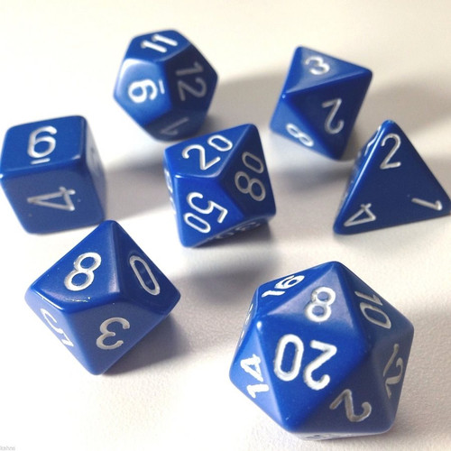 CHX 25406: Opaque Blue White