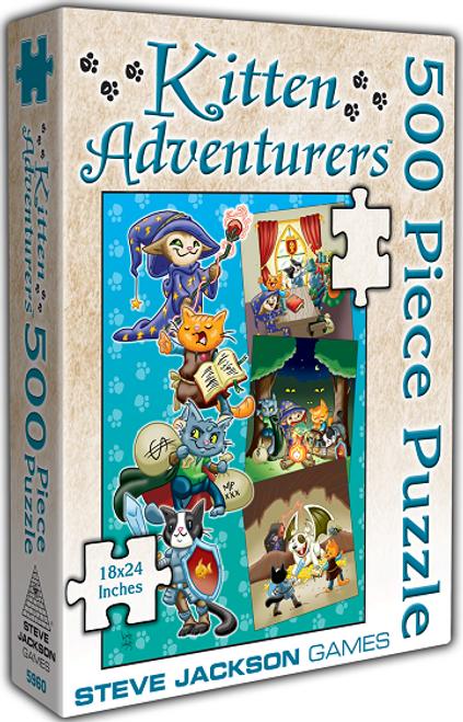 Puzzle: 500 Kitten Adventurers