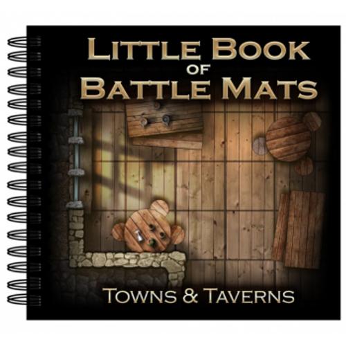 Loke Maps Little Book of Battle Mats: Towns and Taverns