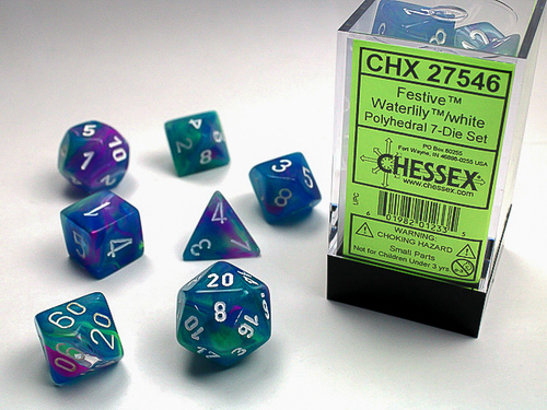 CHX 27546: Festive Waterlily White