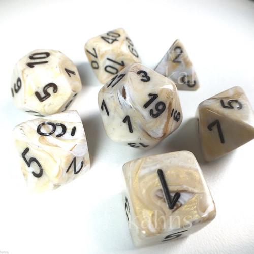 CHX 27402: Marble Ivory Black