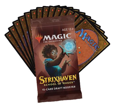 Magic the Gathering Strixhaven Draft Booster