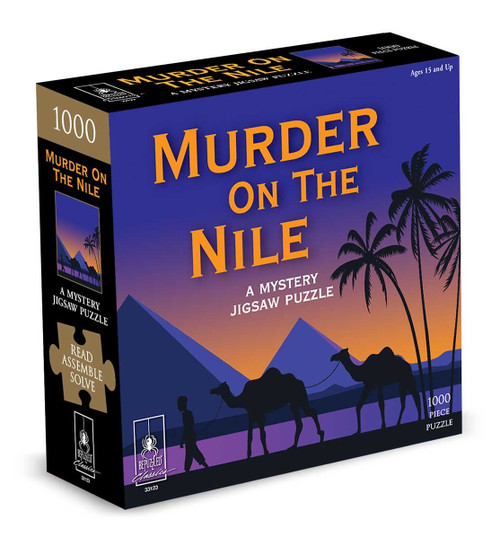 Puzzle: 1000 Mystery Murder on the Nile