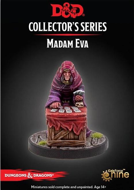 Dungeons and Dragons Curse of Strahd: Mini Madame Eva
