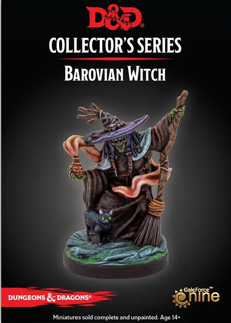 Dungeons and Dragons Curse of Strahd: Mini Barovian Witch