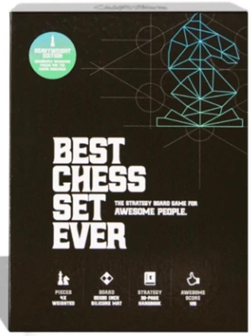 Best Chess Set Ever XL: Blue