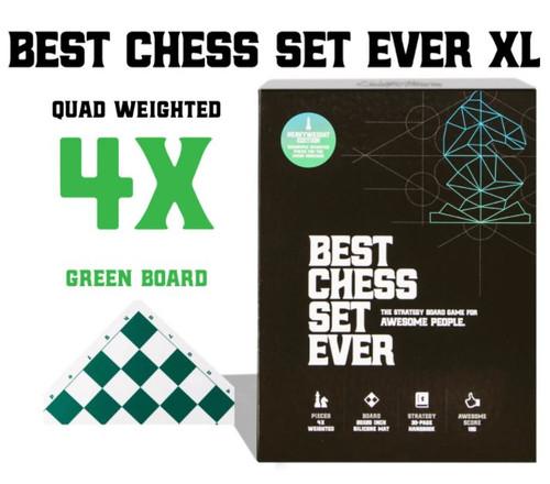 Best Chess Set Ever XL: Green