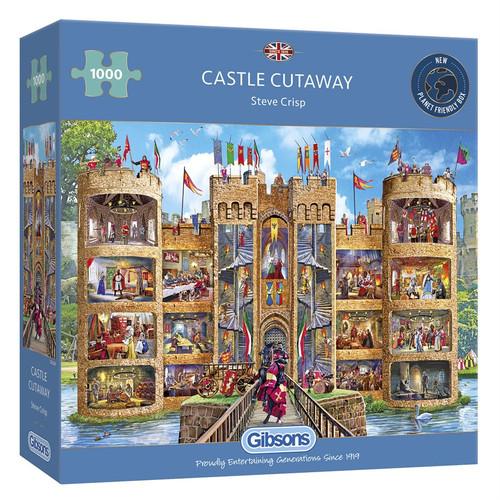 Puzzle: 1000 Castle Cutaway