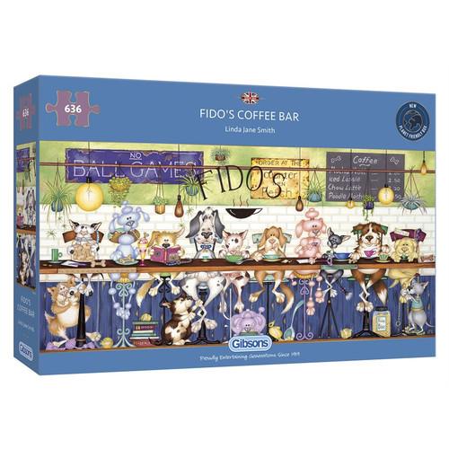 Puzzle: 636 Fido's Coffee Bar