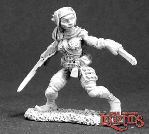 Metal Mini Reaper 03285: Dynis, Elf Thief