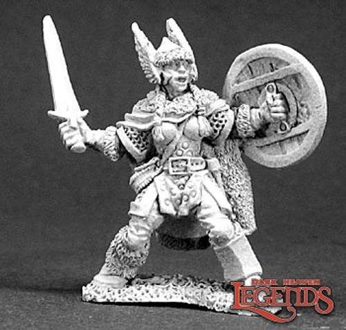 Metal Mini Reaper 03287: Bryndi, Female Warrior