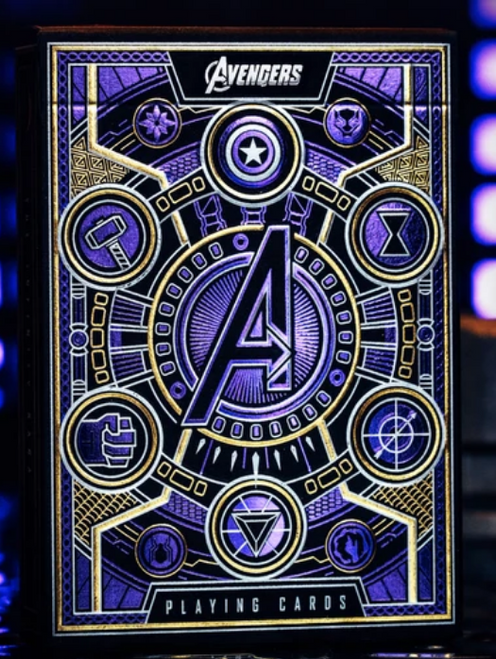 Theory 11 Playing Cards - Avengers