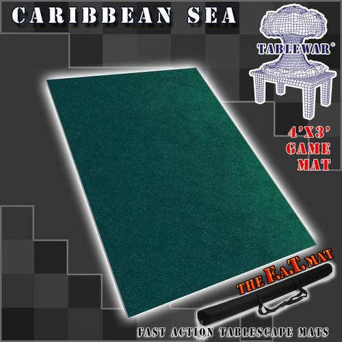 F.A.T. Mats: Caribbean Sea 4' x 3'