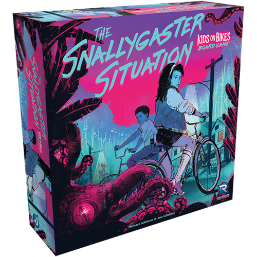The Snallygaster Situation: A Kids on Bikes Board Game