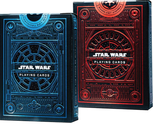 Theory 11 Playing Cards - Star Wars Dark Side & Light Side Set (2 Packs)