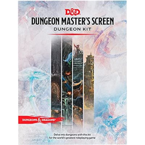 Dungeons and Dragons Dungeon Master's Screen Dungeon Kit