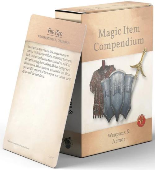Magic Item Compendium: Weapons and Armors Deck