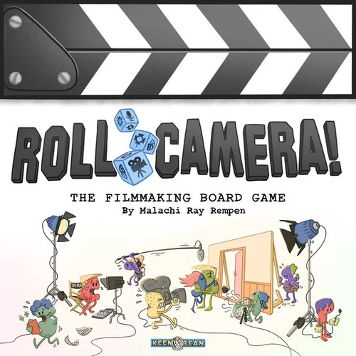 Roll Camera The Filmmaking Board Game