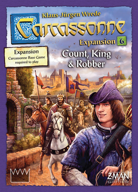 Carcassonne: Count King and Robber