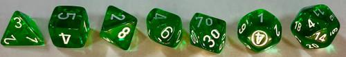 CHX 23075: Translucent Green White