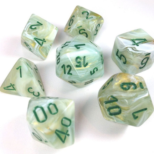 CHX 27409: Marble Green Dark Green