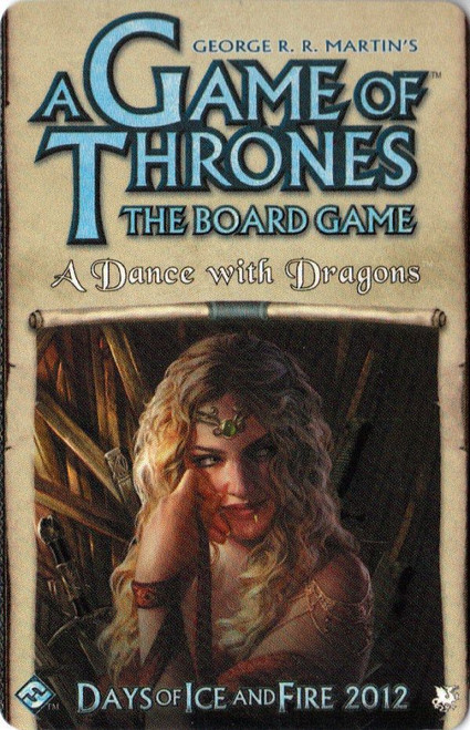Game of Thrones Board Game: Dance with Dragons