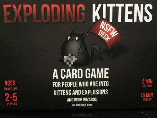 Exploding Kittens: NSFW
