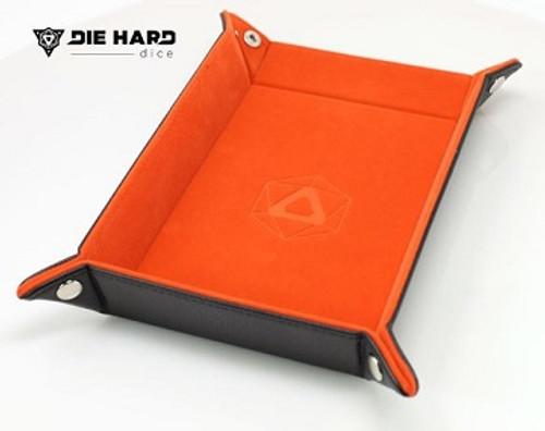 Die Hard Folding Rectangle Tray: Orange