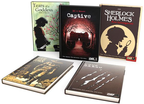 Graphic Novel Adventures Set