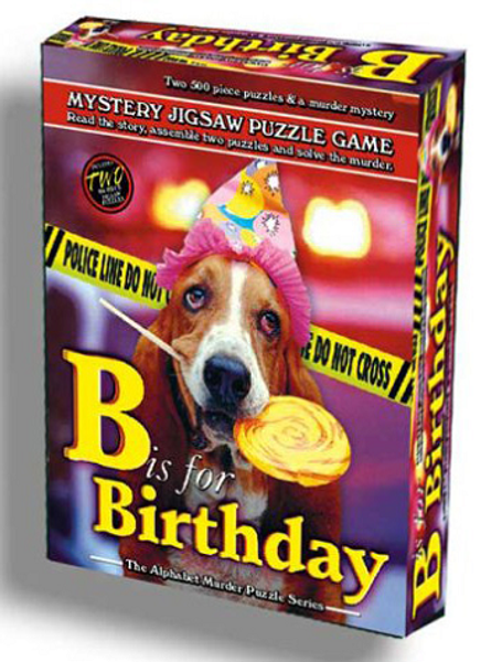 Mystery Jigsaw Puzzle 500 - B is for Birthday