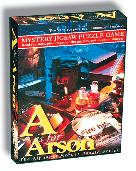 Mystery Jigsaw Puzzle 500 - A is for Arson