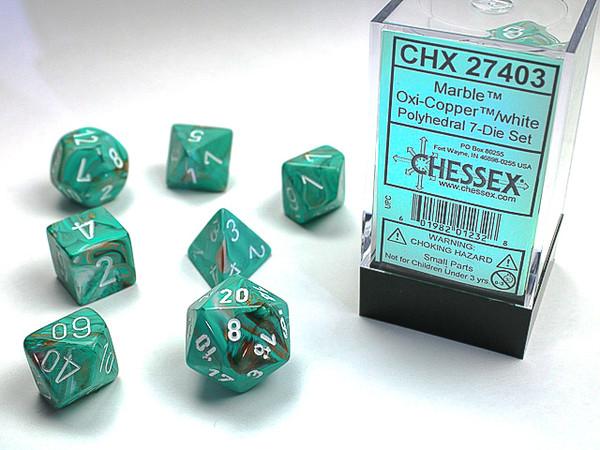 CHX 27403: Marble Oxi-Copper White