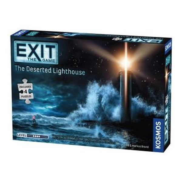 Exit: The Deserted Lighthouse Puzzle