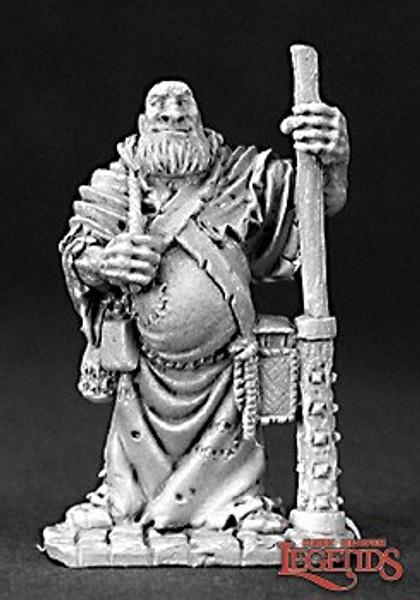 Metal Mini Reaper 03205: Friar Stone, Traveling Monk