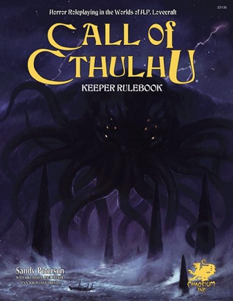 Call of Cthulhu 7E Keeper Rulebook