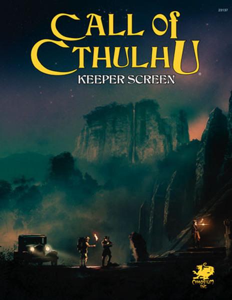 Call of Cthulhu 7E Keeper Screen