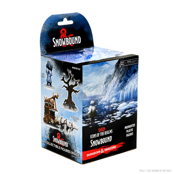 Dungeons and Dragons Icons of the Realm: Snowbound Booster