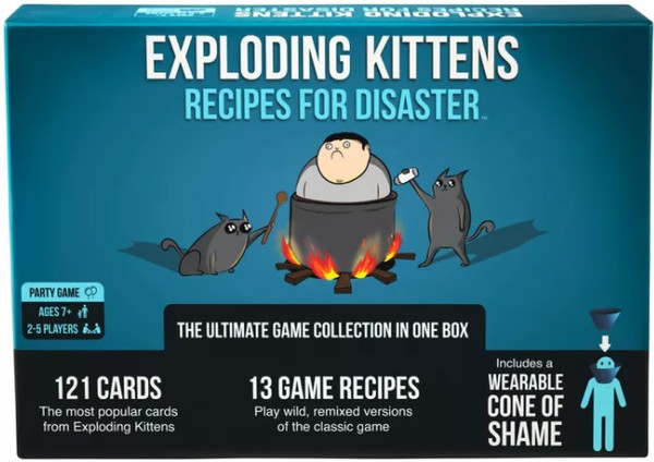 Exploding Kittens Recipes for Disaster