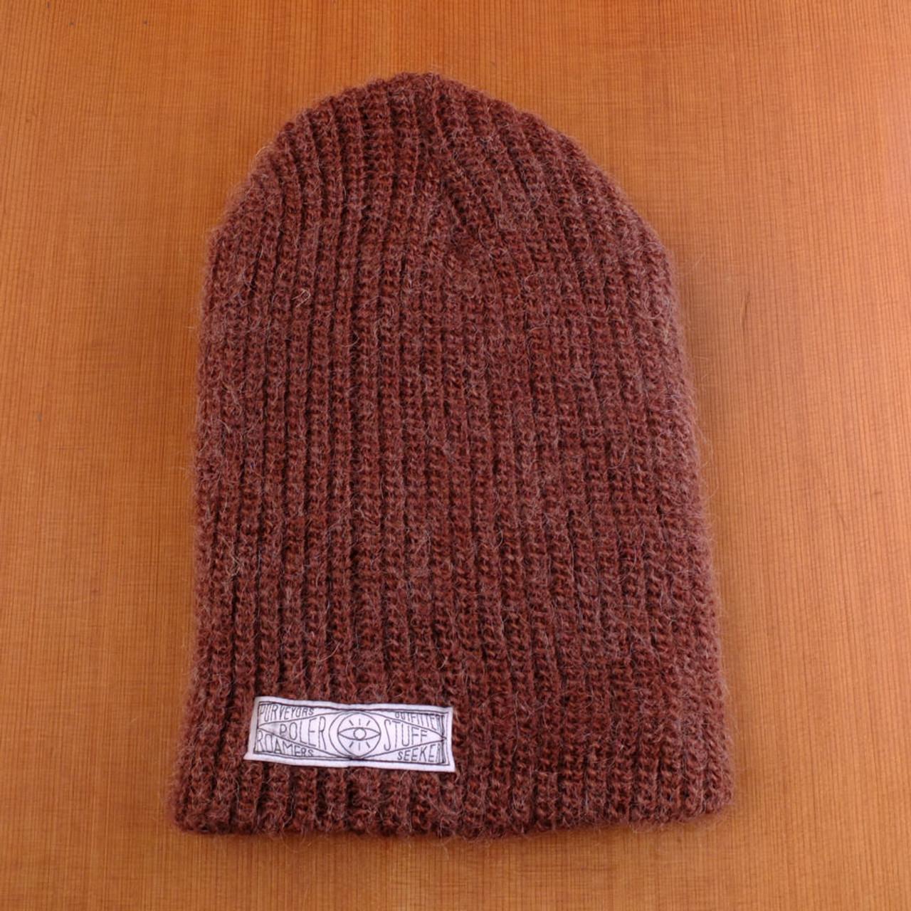 Poler Mole Hair Bear Brown Beanie - The Longboard Store 1c167c1468f